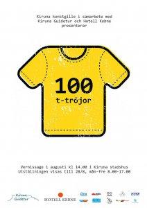 100 t-tröjor