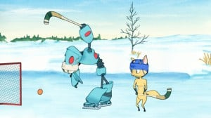 Bandymatchen - Kaisa & Harax - animerad film av Bortbyting