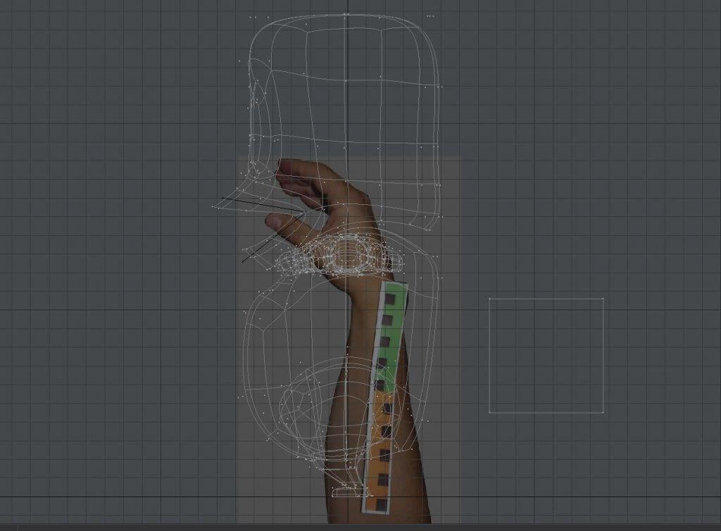 Mått för handen - building the Pikku puppet