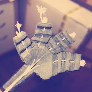 bygga pikku händer hands