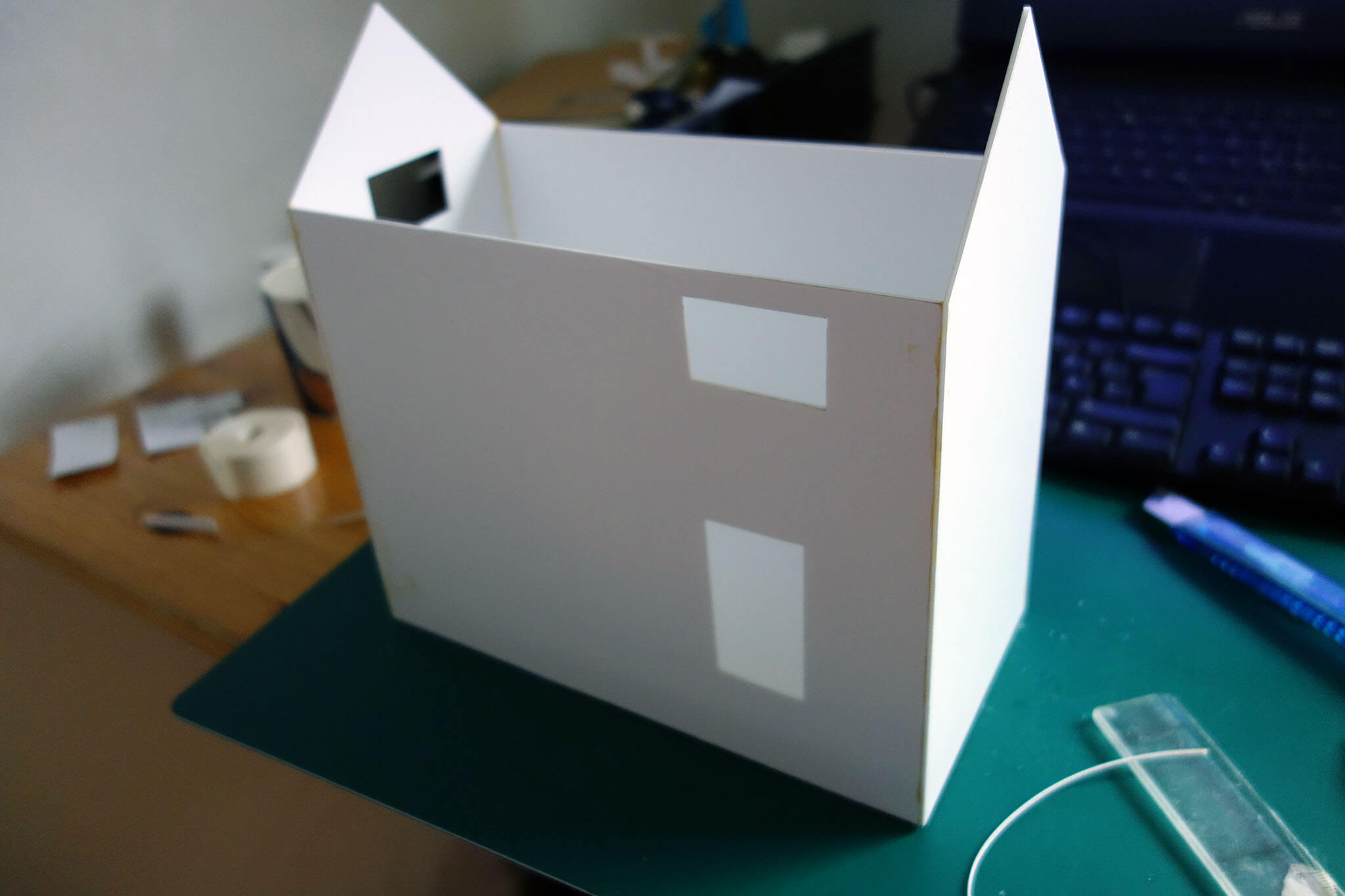 Pikku's house huset_foamboard